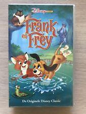 Frank & Frey VHS Tape Original dutch NL Film Videoband Disney Purple Tape