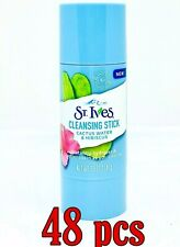 Lot of 48 St. Ives Cactus Water & Hibiscus Facial Cleansing Stick 1.59 oz ea