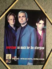 EVERCLEAR POSTER, SO MUCH FOR THE AFTERGLOW, VINTAGE 1998 CAPITOL RECORDS PROMO