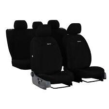Autositzbezüge für BMW X1 E84 09-15 Schwarz Komplettset Schonbezüge Sitzbezüge
