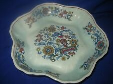 Blue Calyx Ware China Adams Wedgwood Group Serving Dish Pottery Adams
