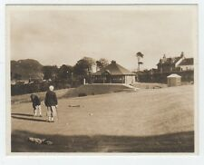 Photograph of Golf Club House and 18th Green, Lamlash, Isle of Arran (C28552)