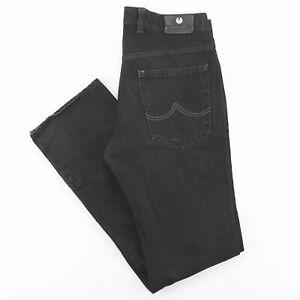 BELSTAFF Black Prince Label Black Denim Regular Straight Jeans Mens W33 L34