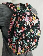 NWT Vera Bradley ESSENTIAL COMPACT BACKPACK Travel Purse Bag TANGERINE TWIST
