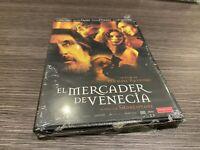 Il Mercante De Venezia DVD Al Pacino Jeremy Irons Joseph Fienn Sigillata Nuovo