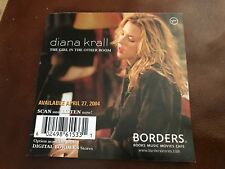 Very Rare Diana Krall Promo Postcard/Mini-Poster 2004 The Girl in the Other Room