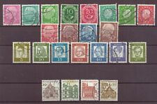 Germany, Issues of 1950s & 1960s, Used, OLD