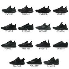 adidas Triple Black Men Running Casual Lifestyle Sneakers Shoes Footwear Pick 1