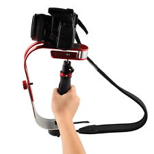 Red Handheld Video Stabilizer Steadycam for Digital Camera Camcorder DSLR SLR DV