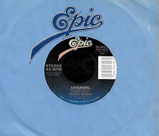 "TEENA MARIE ""LOVEGIRL/(Instrumental)"" EPIC 34-04619 (1984) 45rpm SINGLE"