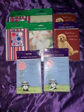 Lot Of 8 Pack Note Cards