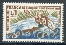 STAMP / TIMBRE FRANCE NEUF LUXE N° 1609 ** SPORT / CANOE KAYAK