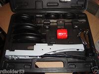 Mastercool 70070  Soft Copper Ratchet Style Tube  Bender Kit 3/8 to 7/8 OD