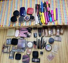 HUGE LOT Makeup Sample Try-me Set All Brushes Eyes Face Lips 70+ Items READ DESC