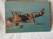 AIRCRAFT POSTCARDS DE HAVILLAND DH. 82A TIGER MOTH