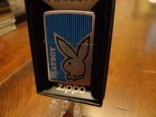 PLAYBOY BUNNY ZIPPO LIGHTER MINT IN BOX 2011