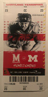 2019 Michigan Wolverines vs Maryland Terrapins Football Ticket Stub Nice