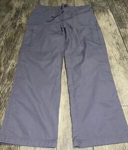 Carhartt Ripstop Multi Cargo Scrub Pants Mens Sz Large Tall Gray