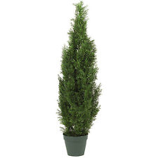 4' CEDAR TREE SILK TREE (INDOOR-OUTDOOR)NEW-ENTRYWAY HOME/OFFICE PINE-1000 TIPS