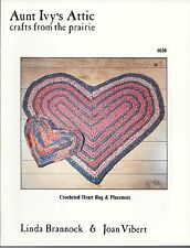 Crocheted Heart Rug & Placemats (Aunt Ivy's Attic Crafts From the Prairie #650)