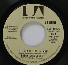 Rock 45 Bobby Goldsboro - The Gentle Of A Man / And I Love You So On United Arti