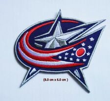 Columbus Blue Jackets Logo NHL Embroidery Patch Iron and sewing