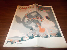 1931 California Santa Fe RR  94-Page Tour Booklet with Many Great Pictures /More