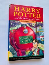 Harry Potter & the Philosopher's Stone by J K Rowling hardback 1st Edn 3rd print