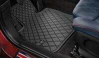 orig. MINI Allwetter Fußmatten Gummimatten Essential Black F55 F56 F57 Cabrio