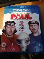 Paul (Blu-ray and DVD Combo, 2011, 2-Disc Set) Like New Condition