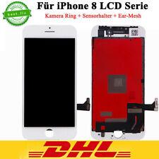 LCD Display für iPhone 8 4,7 RETINA WEISS Glas Scheibe Bildschirm Touch NEU