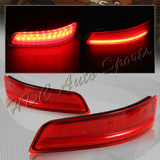 For 2013-2015 Lexus GS350 GS450H LED Rear Bumper Turn Signal Stop Brake Lights
