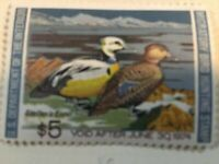 1973 $5 Federal Duck Migratory Bird Hunting Stamp RW40