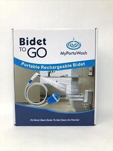 NEW! MyPorta Wash Bidet To Go Portable Recharging Bidet