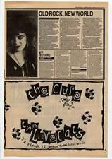 Cure The Love Cats Advert NME Cutting 1983