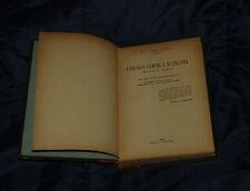 1936 UMBERTO NOBILI CHIRURGIA COMUNE E DI URGENZA INCISIONI LIBRO MEDICINA