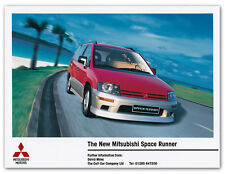 MITSUBISHI SPACE RUNNER Press Release Fotografia