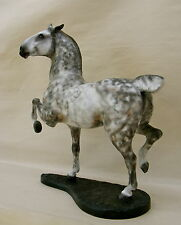 Breyer Custom/Cm  JUMPER-HUNTER  TYPE STALLION  w/base  by PZ17