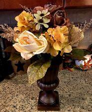Fall Harvest Floral Arrangement Table Centerpiece Thanksgiving Autumn Turkey