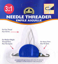 DMC 6112/6 3 In 1 Needle Threader - Buy One Get The Second Free