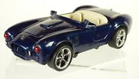 Blue Plastic AC Cobra British Sports Car  20 cm Model Car Diorama For repair Toy