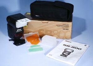 Nikon SB-800 Speedlight Shoe Mount Flash * Fully Working & Boxed
