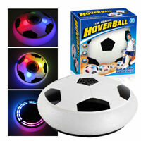 Kids Boys Light Up Flashing LED Hover Ball PRO Soft Foam with Glide Base Gift