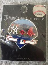 2013 Opening Day Pin #3 Yankee Stadium New York Yankees Boston Red Sox