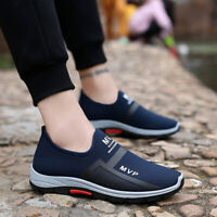 Men Running Shoes Outdoor Sneakers Sports Casual Breathable Mesh Sneakers New