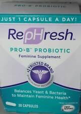 RepHresh Pro-B Probiotic Feminine Supplement Feminine Health - 30 Capsules