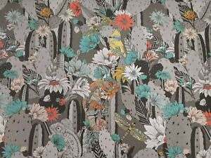 Osbourne and Little Floral Print Fabric New **9.8M Roll**