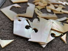 More details for mother of pearl ground scrap 200g - inlay - jewellery making - luthier