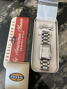 Fossil Mens Watch Stainless Steel