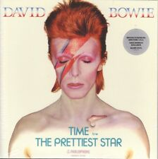 """DAVID BOWIE - Time/The Prettiest Star 7"""" Silver Vinyl Brooklyn Museum Exclusive"""